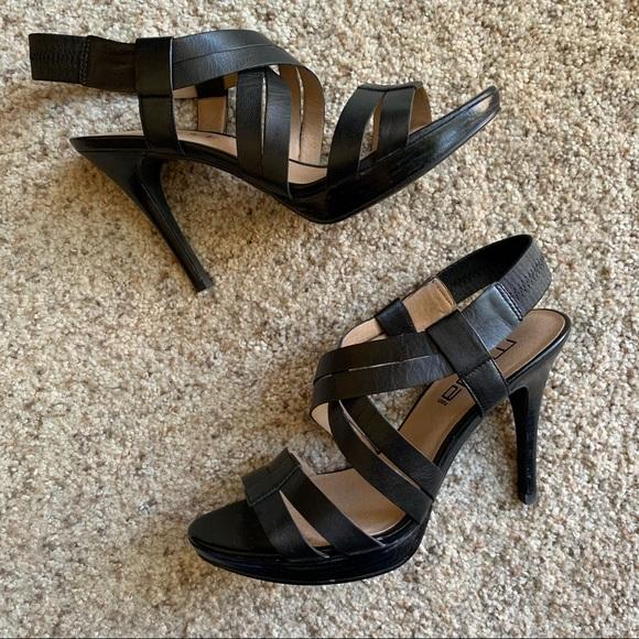 Moda Spana Nelly Strappy Sandals Black Size 8